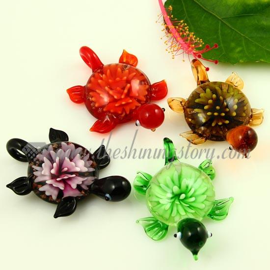 sea turtle murano glass pendants wholesale