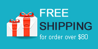 Free Shipping for order over $80