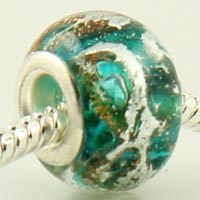 Murano glass big hole beads