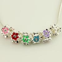 Enamel charms fit bracelets