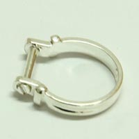 European finger ring fit for big hole beads