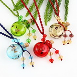 essential oil diffuser necklace on strings