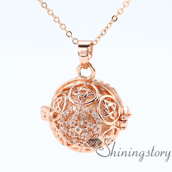 Lockets For Women Essential Oil Necklace Wholesale Sister