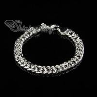 925 sterling silver filled brass chain bracelets