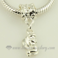 angel silver plated european charms fit for bracelets