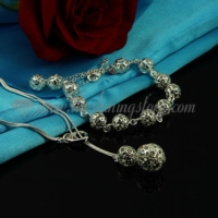 filigree toggle necklaces and bracelets jewelry sets