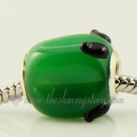 fruits lampwork glass beads for fit charms bracelets