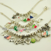 mix european large hole dangle charms fit for bracelets and necklaces