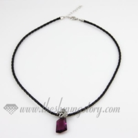 pu leather necklaces cord for pendants jewelry