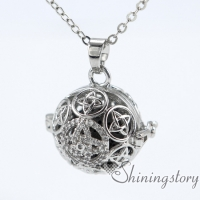 silver locket aroma jewelry locket necklace for girl cool lockets necklaces