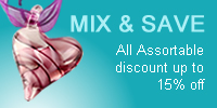All Assourtable discount up to 15% off